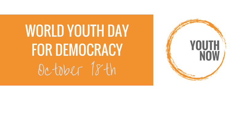 WORLD YOUTH DAY FOR DEMOCRACY